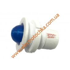 Арматура светосигнальная светодиодная СКЛ 11А-С-2 Р140 синяя