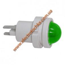 Арматура светосигнальная светодиодная СКЛ 12А-K-2 зеленая