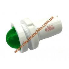 Арматура светосигнальная светодиодная СКЛ 14А-Л-2 зеленая