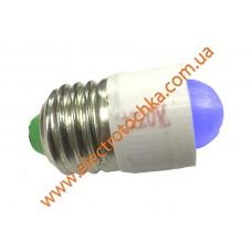 Светодиодная коммутаторная лампа с цоколем E27 СКЛ 7А-C-2 синяя
