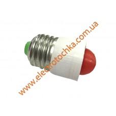 Светодиодная коммутаторная лампа с цоколем E27 СКЛ 7А-К-2 красная