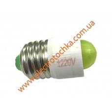 Светодиодная коммутаторная лампа с цоколем E27 СКЛ 7А-Л-2 зеленая