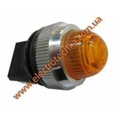PL-25N 220В Сигнальная арматура желтая