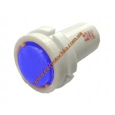 Арматура светосигнальная светодиодная СКЛ 14А-C-2-П плоская синяя