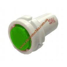 Арматура светосигнальная светодиодная СКЛ 14А-Л-2-П плоская зеленая