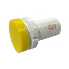 Арматура светосигнальная светодиодная СКЛ 14А-Ж-2-П плоская желтая