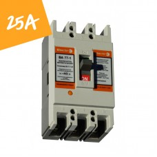 Автоматический выключатель ВА77-1-125 25А 3 полюса 8-12 In