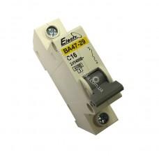 Автоматический выключатель ВА47-29  1 полюс  16А  4,5 кА (х-ка С)