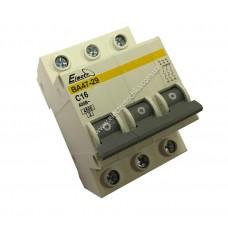 Автоматический выключатель ВА47-29  3 полюса  16А  4,5 кА (х-ка С)