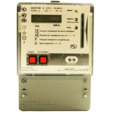 Однофазный многотарифный прибор учёта электроэнергии для систем предоплаченного отпуска электроэнергии «Энергия – 9» CTK1-10.BU1t