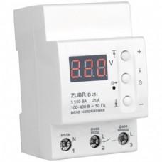 Реле защиты от перенапряжения ZUBR D25t