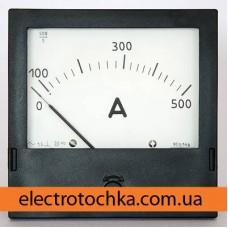 Щитовой амперметр\вольтметр Э365 класс 1,5 (120х120х50)