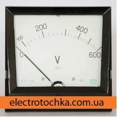 Щитовой амперметр\вольтметр Э378 класс 1,5 (150х150х40)