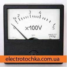 Щитовой амперметр\вольтметр Э8030 класс 1,5 (80х80Х50)