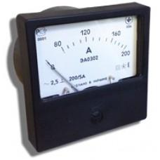 Щитовой амперметр\вольтметр ЭА0302 (80х80)