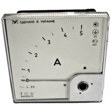 Щитовой амперметр\вольтметр ЭА0302/1 (120х120)