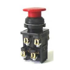 Выключатель кнопочный КЕ-022 (исполнение 1...9) (грибок, 2 секции)