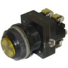 Выключатель кнопочный КЕ-171 (с сигнальной лампой)
