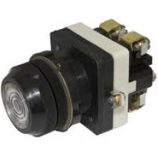 Выключатель кнопочный КЕ-172 (с сигнальной лампой, 2 секции)