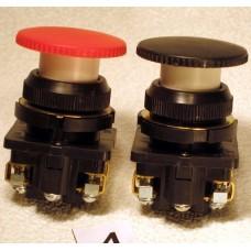 Выключатель кнопочный КЕ-191 (исполнение 1...5) (грибок без фиксации)