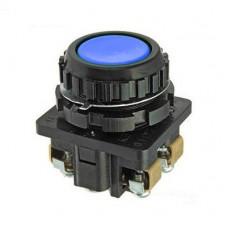 КЕ-011 синий выключатель кнопочный (исполнения 1...5)