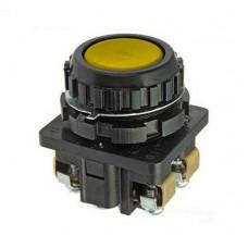 КЕ-011 желтый выключатель кнопочный (исполнения 1...5)