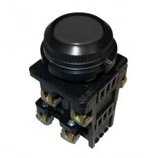 КЕ-012 черный выключатель кнопочный  (исполнение 1...5)