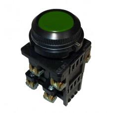 КЕ-012 зеленый выключатель кнопочный  (исполнение 1...5)