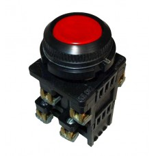 КЕ-012 красный выключатель кнопочный  (исполнение 1...5)