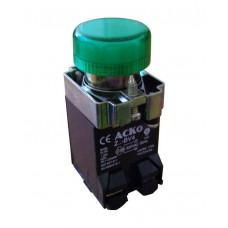 XB2-BV43 сигнальная арматура зеленая