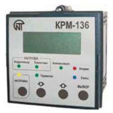 Контроллер КРМ-136 реактивной мощности 3-фазный 6-ступенчатый