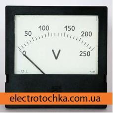 Щитовой амперметр\вольтметр М381 класс 1,5 (120х120)