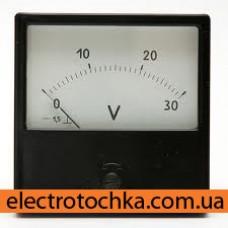 Щитовой амперметр\вольтметр М42300 кл.1,5 (80х80х50) б/шун.