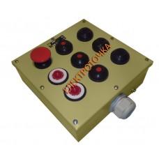 Пост управления кнопочный ПКУ 15-21-331 54У2