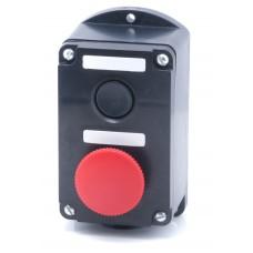 Пост кнопочный ПКЕ-222/2 (грибковая)