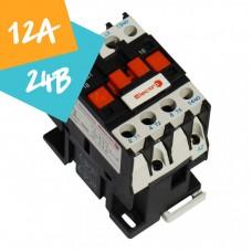 Контактор ПМЛо-1-12 12А 24В АС3
