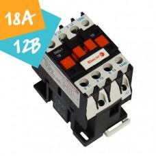 Контактор ПМЛо-1-18 18А 12В АС3