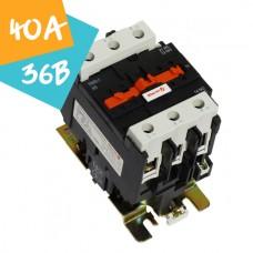 Контактор ПМЛо-1-40 40А 36В АС3