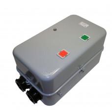 ПМ12 160120 160А, нереверсивный, без реле, в корпусе IP54, с кнопками ПУСК и СТОП, пускатель электромагнитный