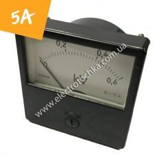 Щитовой амперметр М1001 5А