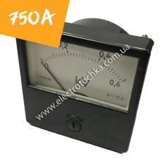 Щитовой амперметр М1001 750А