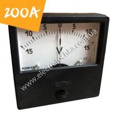 Щитовой амперметр М2001 200А
