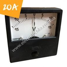 Щитовой амперметр М2001 20А