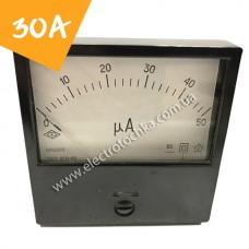 Щитовой амперметр МА0200 30А