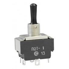Тумблер П2Т-1 3А, 220В (3 положения фиксации)