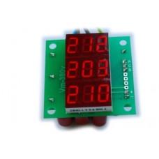 Вольтметрт действующего значения переменного тока Вм-14(3х220в) трехфазный без корпуса