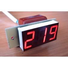 Вольтметрт действующего значения переменного тока Вм-19(220в) без корпуса