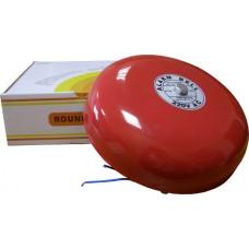 Звонок АсКо EBL-2004 CB-8 200 мм 220В красный тревога