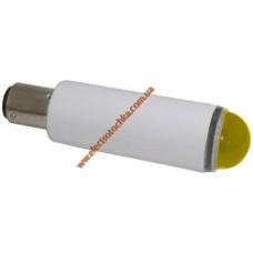 Арматура светосигнальная светодиодная СКЛ 1 А-Ж-2 желтая