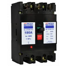Автоматичний вимикач УКРЕМ ВА-2004N/250 3р 180А АСКО